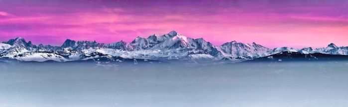 Alps Sunset by cwaddell