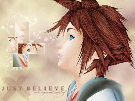 Kingdom Hearts: Just Believe by Cyber-Shady