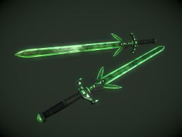 Glass Sword by InsanitySorrow