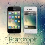 Raindrops for iPhone by xmeerzx
