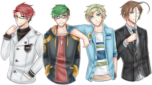 YouTubers: Mystic Messenger Crossover by PrincePhantom