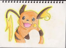 'Adventure?'- Raichu by firenight617