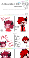 MEMEs: Double Meme with Damian-Fluffy-Doge by TairusuKU