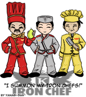 I summon My Iron Chefs by yanagi-san