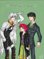 Feel the Brotherly Love by tae-