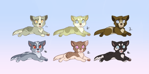Pointable Puppies CLOSED by lol-adopts