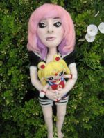 My Needle Felted Tiff by CatsFeltLings