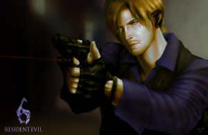 Leon s kennedy by thanomluk