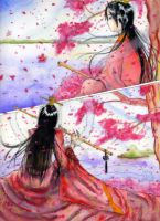 cherry blossom by meiran-chang
