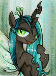 Chrysalis ACEO by FoxInShadow