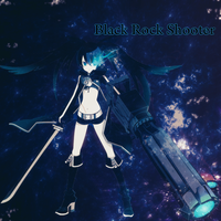 Black Rock Shooter by slowboyazn