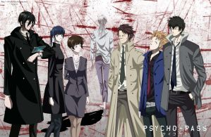 Psycho-pass by 08-Uchimata