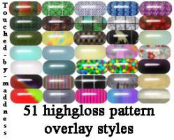 51 HighGloss styles by Touched-by-Maddness