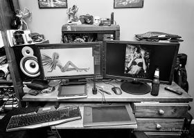 Work Station by Enticedphotos