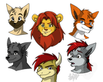 Anthro Group 1 by RatchetJak