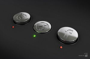 Metal buttons by krolone