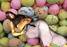 Easter Egg Glutton by Smegman9