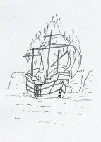Boat on fire - Part I by dj-neogirl