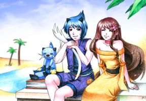 PP: A sunny Day in Matahari by leinef