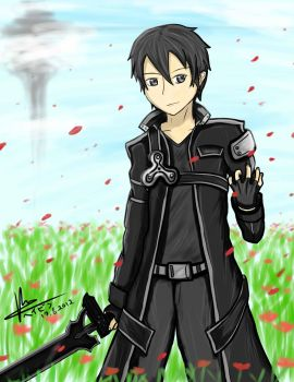The Black Swordsman - Sword Art Online by HayzenR
