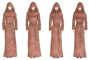 Spamalot- Monks by unusual-filament