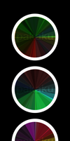 Colour Wheels by Pakaku