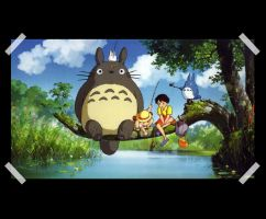 My_Neighbor_Totoro by pamla