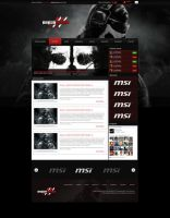 Polish Wings Gaming WebDesign by Gandziks