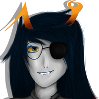Vriska potrait by Shikylusion