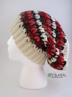 Textured Slouch Beanie by tigardneedlework