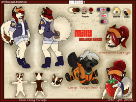 Milly Anthro Ref by SnowyCakes