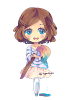 Kyou Chibi (animated) by KyouKaraa