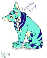 American Hero from Neopets by Leopard-Gryphon