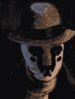 Rorschach mask animated by juhoham