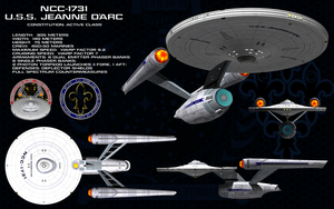 USS Jeanne D'Arc Ortho by Sailmaster-Seion