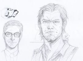 Seb And Jo by HeartChansArtwork