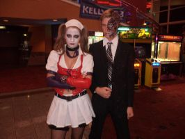 Harley and TwoFace - Midnight Premier by Kayla-Spicer