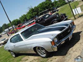 Silver Chevelle by Koenken