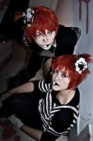 Happy Halloween diabolic twins by LauzLanille