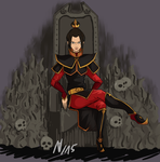 Halloween Contest- Azula by thalle-my-honey