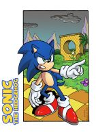 Sonic The Hedgehog Preview by AlkalineAzel