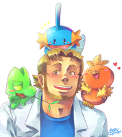 The Professor and the Pokemon by BoGilliam