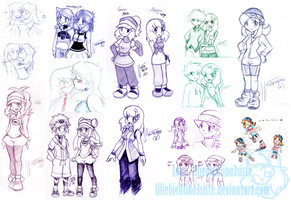 Pokemon Sketchdump- 10-2012 by liliebiehlina3siste