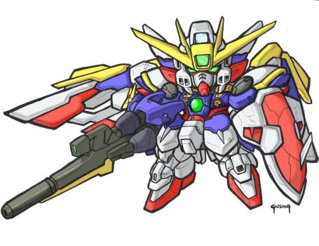 SD Wing Ver.Ka. by MobileSuitGio
