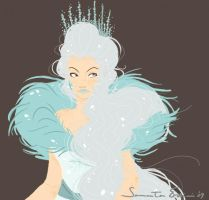 Snow Queen 2 by samycat
