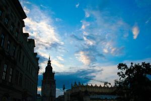 Blue Skies Over Krakow by titian