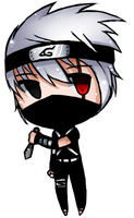 Kakashi Hatake (Child) --  Chibi. by SleepingTerror