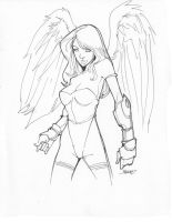 20 commission ANGEL by rantz