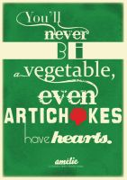 Even artichokes have hearts. by munchinees