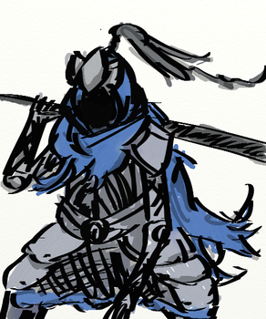 Artorias of the Abyss by OztheAristocrat